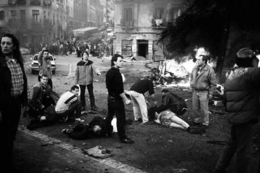 Resultado de imagen de terrorismo en España a finales del siglo XX.
