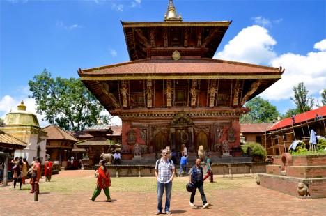 Resultado de imagen de recorrido de templos en nepal